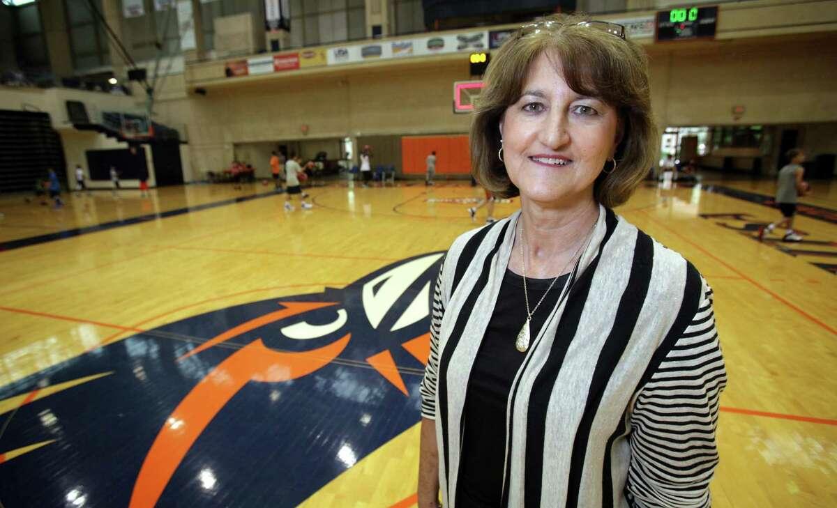 Lynn Hickey, Athletic Director at University of Texas San Antonio. Wednesday. June 13, 2012.