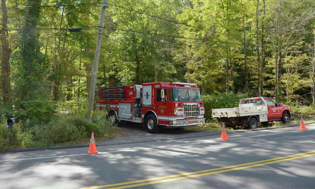 One person is unaccounted for as a result of a fire at a Route 55 North home on Sunday, according to officials. The fire, which was reported around 6 p.m. Sunday, and is still under investigation. Monday, September 20, 2021, Sherman, Conn.