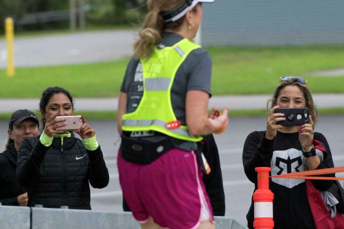 When Ragnar runners are not able to run on sidewalks they are on road shoulders and at night they will be donning safety gear, she said. Team members and their team's spectators are required to wear reflective vests, according to documents submitted to the city of Manistee. (Albany Times Union/File photo)