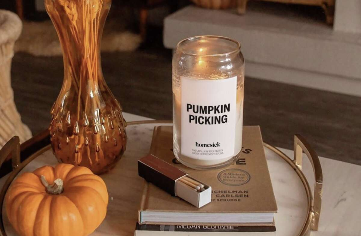 It's finally time for pumpkin spice candles.