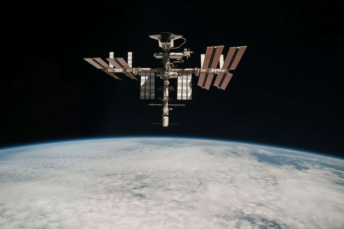 The International Space Station will be visible in the Bay Area night sky on Sept. 20, 2021.