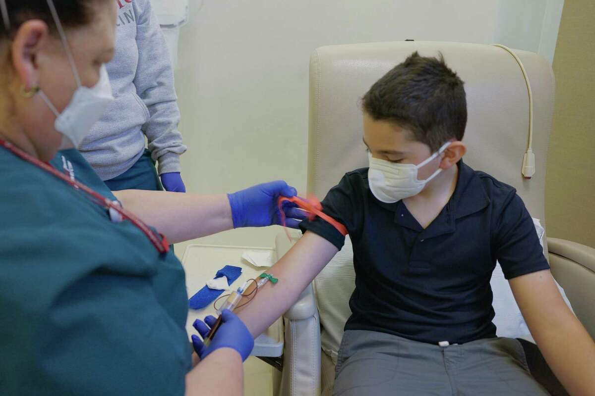 Nico Chavez, 9, participated in the Pfizer vaccine trial for elementary school-aged kids at Stanford.