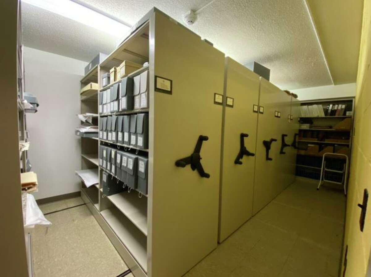 The climate-controlled vault under Scott House contains materials detailing the town's more than 300-year history. A grant from the Anne S. Richardson foundation will help outfit another portion of archival space.