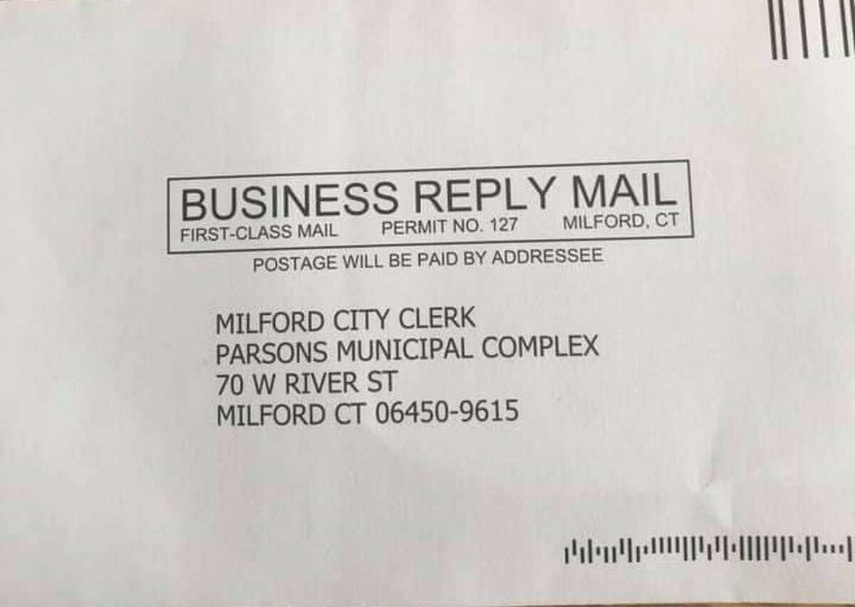 Incorrect zip codes were found on absentee ballot application return envelopes mailed to thousands of residents. The zip code on the return envelopes is 06450-9615, which is for the Meriden Post Office.