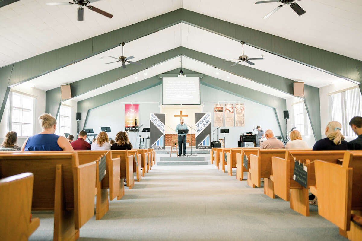 Jacksonville Bible Church is located at 405 Finley St.