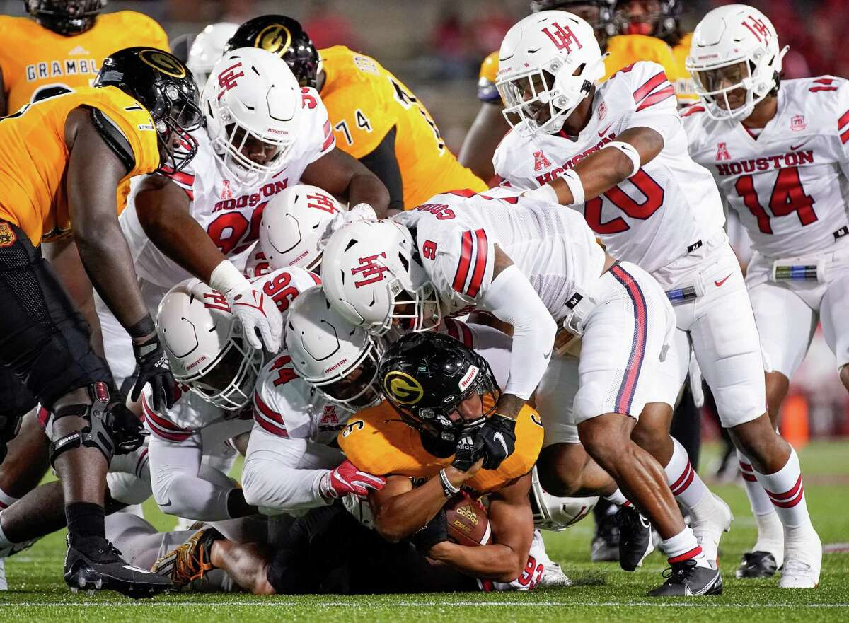 The UH defense didn't allow Grambling to convert any third-down situations and will next face a Navy offense that is struggling.