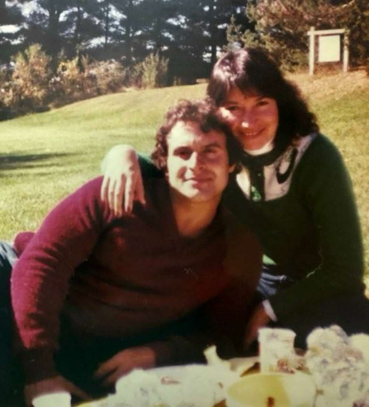 Pete and Karen Leonetti of Madison as a young couple. Karen said she promised Pete and herself that she would always dress nice, put on makeup, and make nice suppers for Pete.