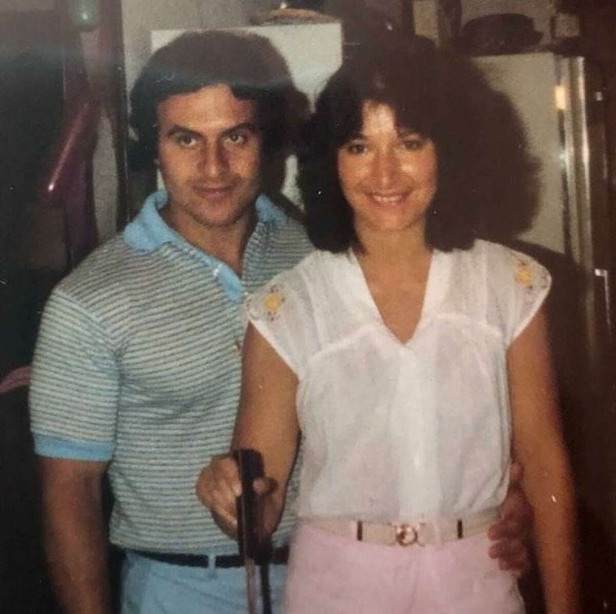 A young Pete and Karen Leonetti had immediate chemistry when they met some 40 years ago while working at a New Haven bar where she was a bartender and he a bouncer.
