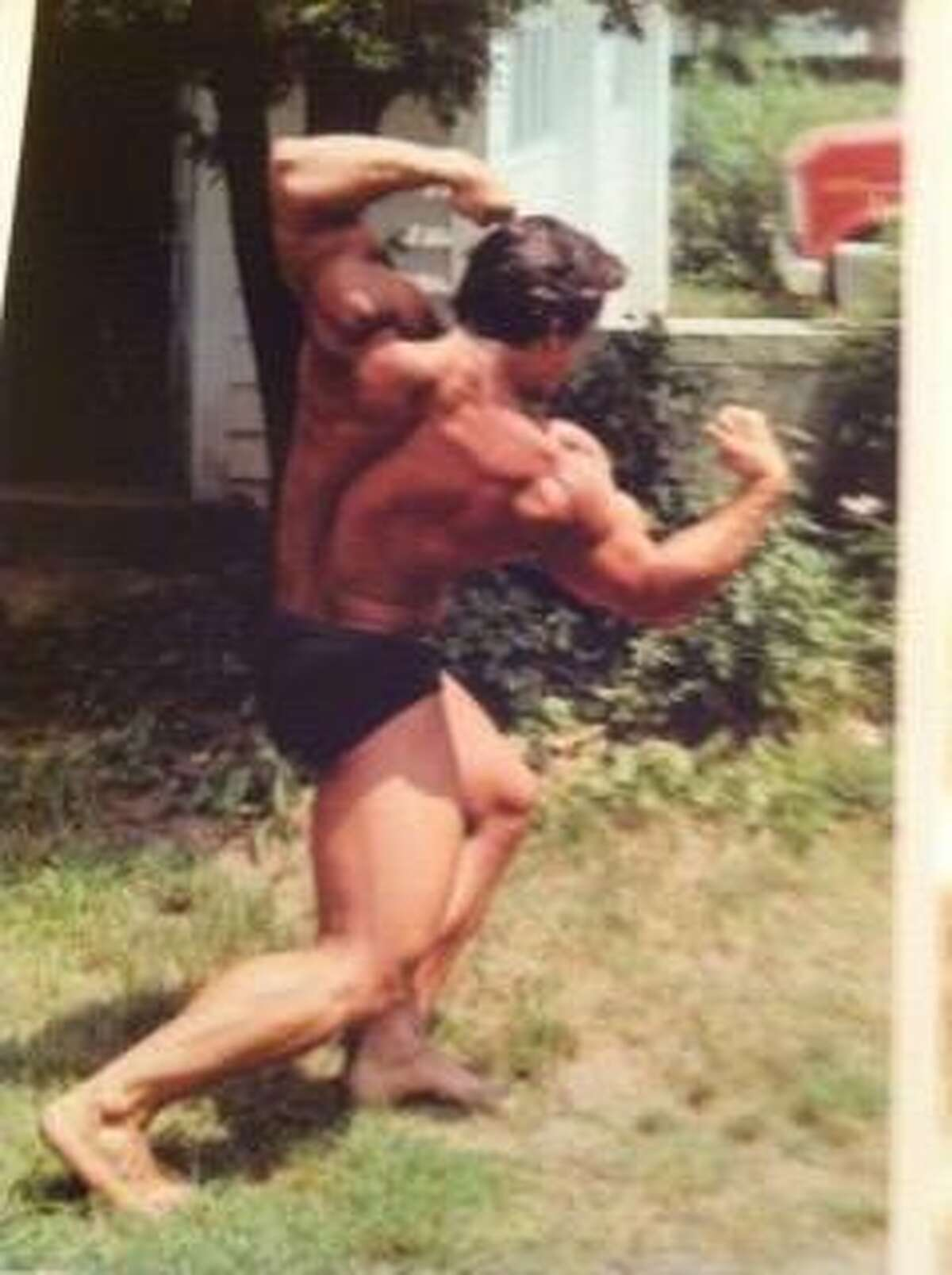 Pete Leonetti strikes a pose back in his competitive body building days.