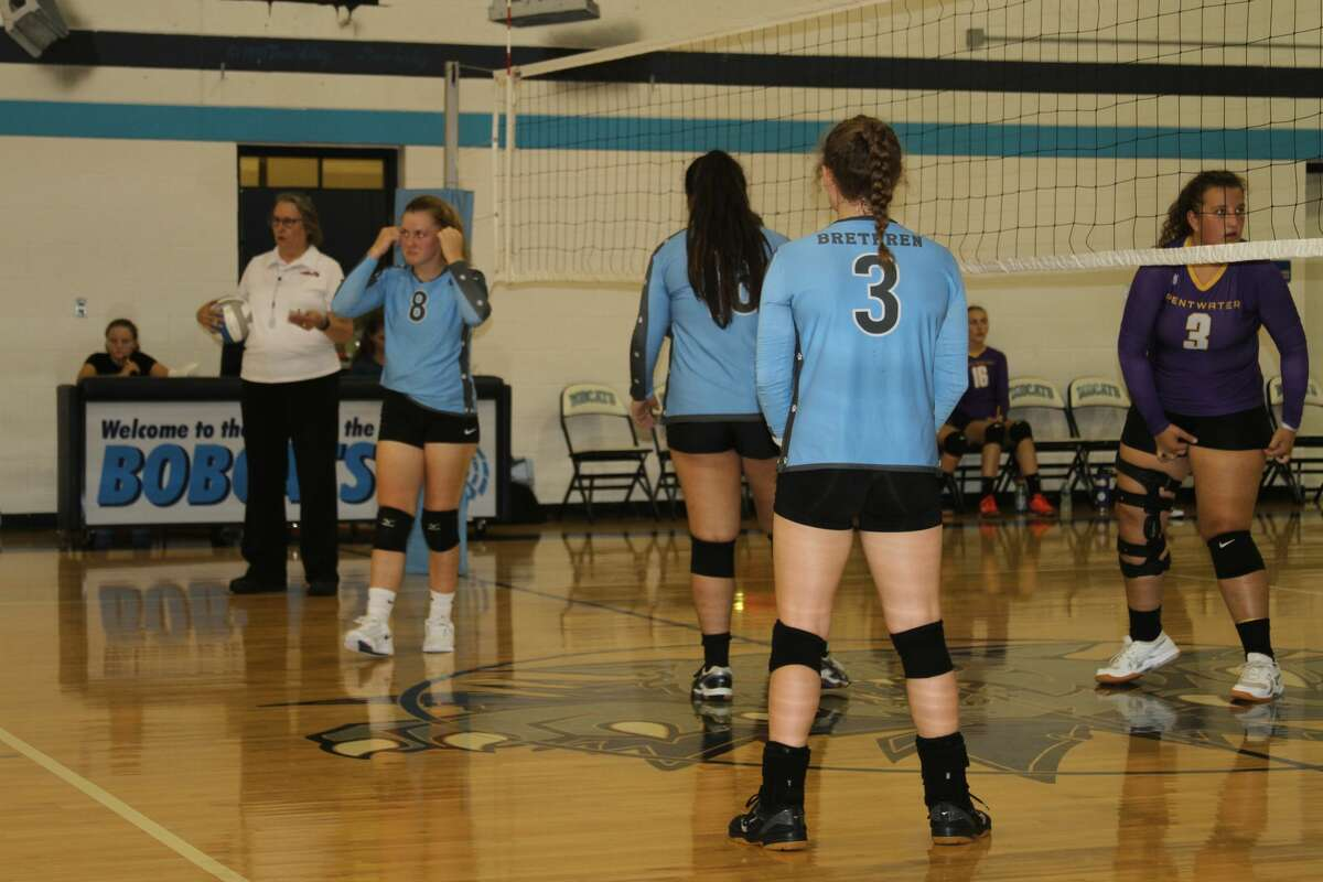 The Brethren Bobcats lost to Pentwater on Monday night.