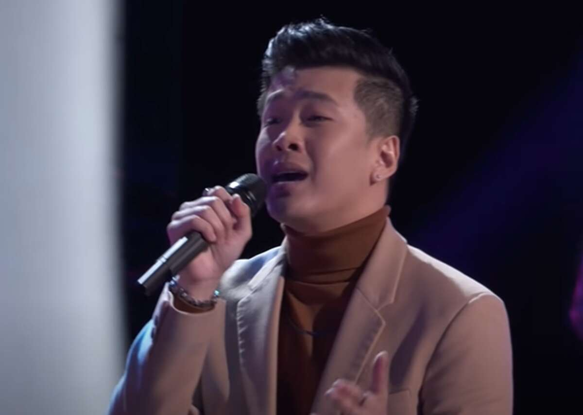 Beaumont nurse Vaughn Mugol wowed three of the four judges in Monday's premiere of the newest season of The Voice.