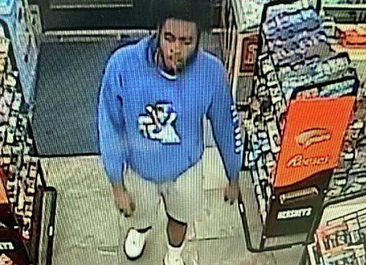 Connecticut State Police are seeking information on the identity of this individual after an alleged double stabbing at an Essex gas station Monday.