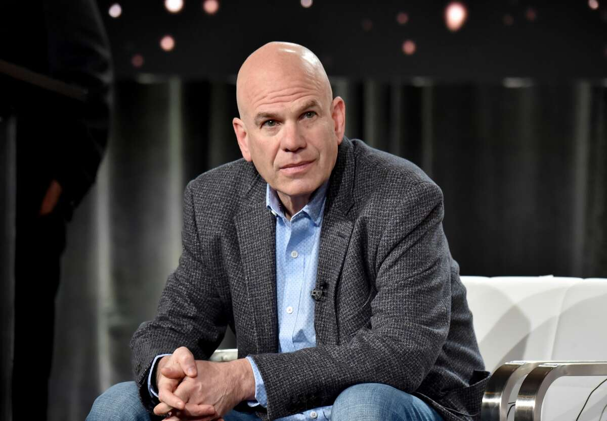 David Simon of 'The Plot Against America' appears onstage during the HBO segment of the 2020 Winter Television Critics Association Press Tour at The Langham Huntington, Pasadena on January 15, 2020 in Pasadena, California.
