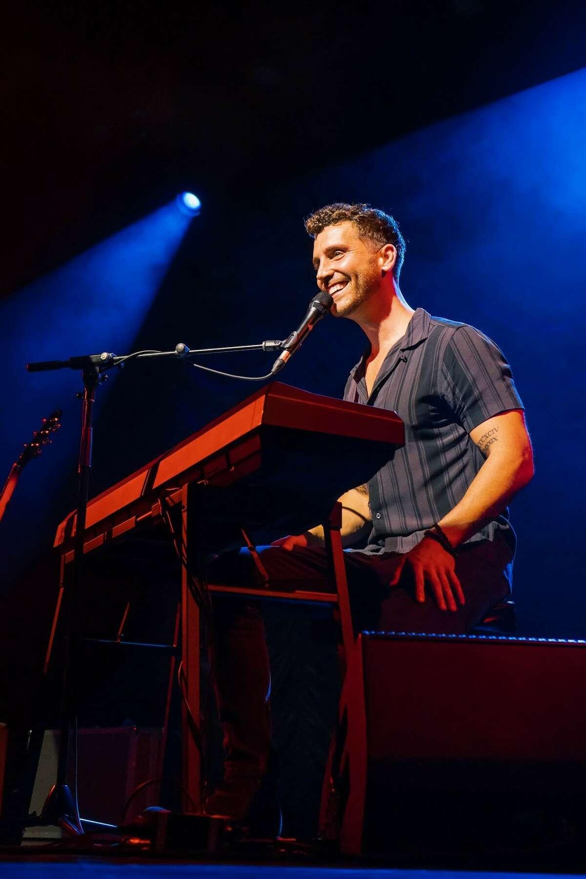 American Idol winner and Connecticut native Nick Fradiani.