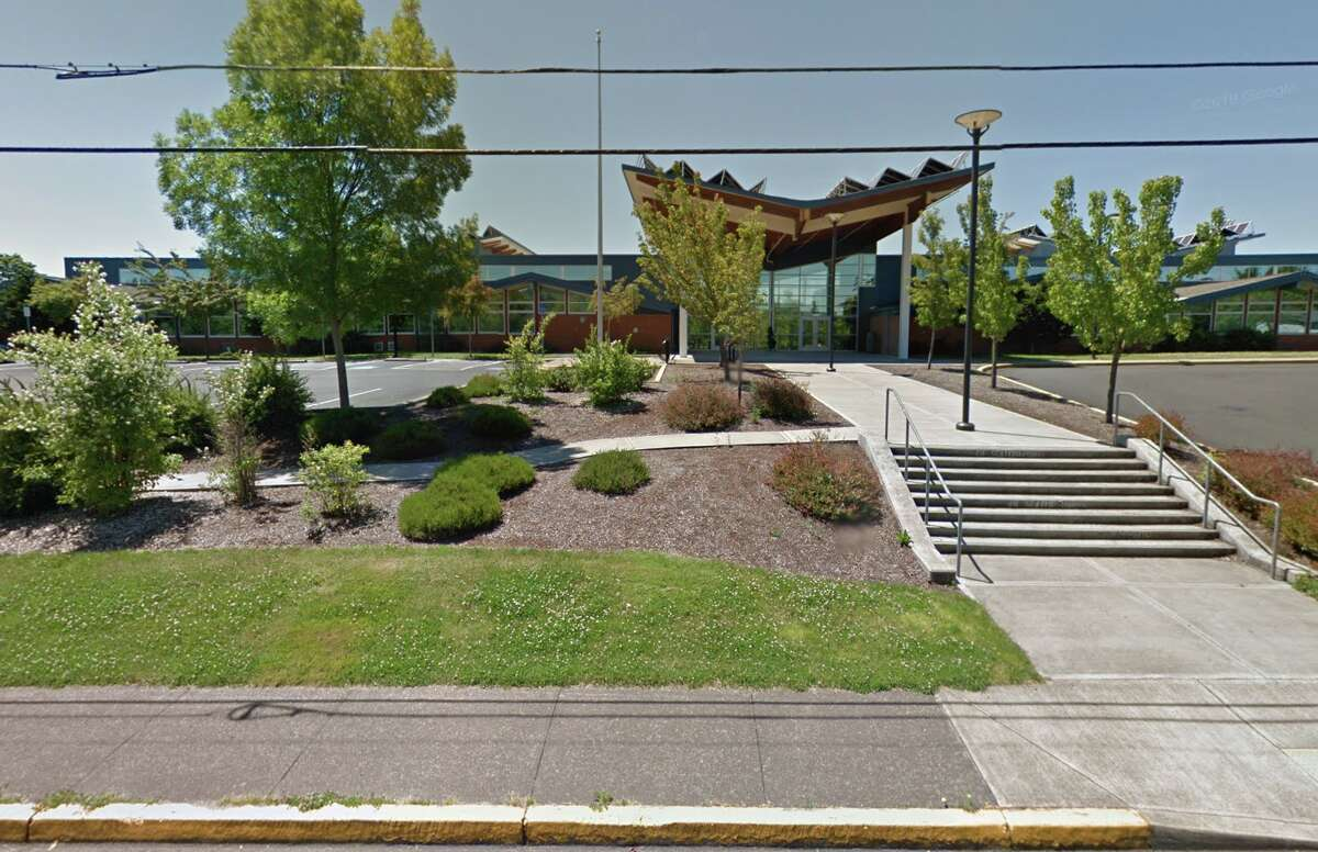Mabel Rush Elementary School in Oregon.
