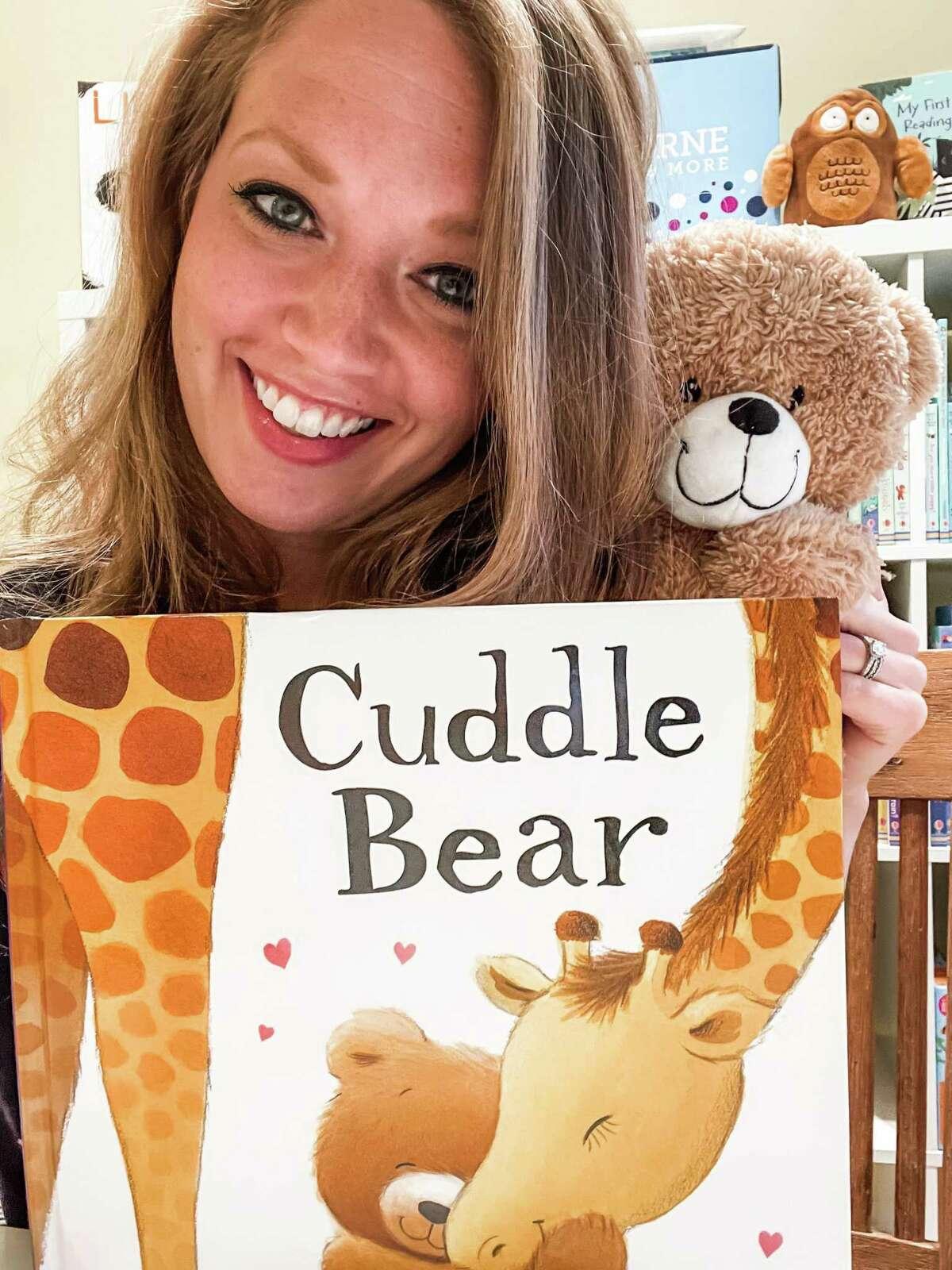 Brunetto started working with UK-based Usborne Books last year, the publisher of Cuddle Bear.
