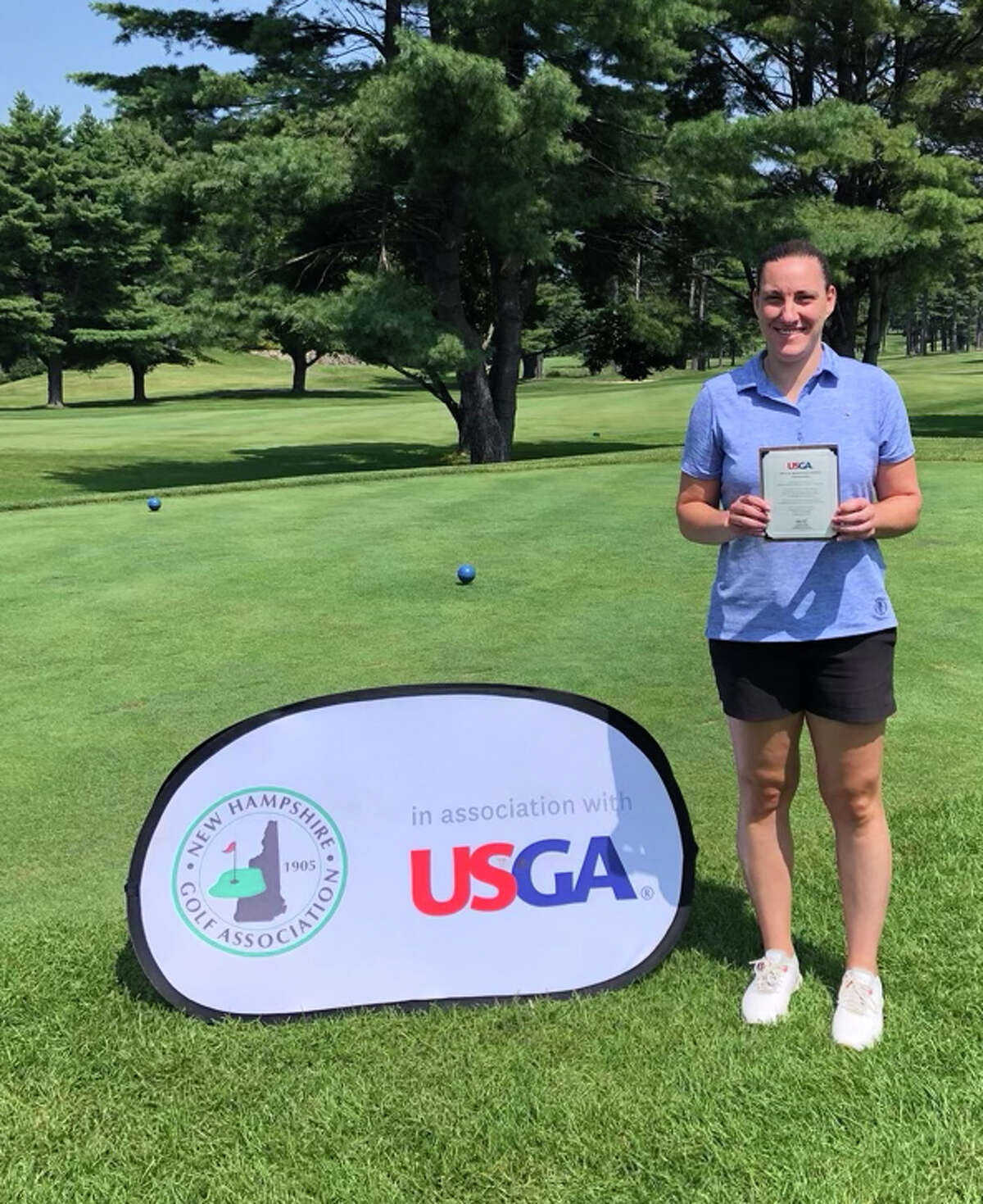 Sam Schuffenecker of Troy qualified for the U.S. Women's Mid-Amateur at Berkeley Hall Club's North Course in Bluffton, S.C. by shooting a 77 at the New Hampshire qualifier. (Provided)