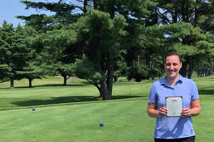 Sam Schuffenecker of Troy qualified for the U.S. Women's Mid-Amateur at Berkeley Hall Club's North Course in Bluffton by shooting a 77 at the New Hampshire qualifier. (Provided)