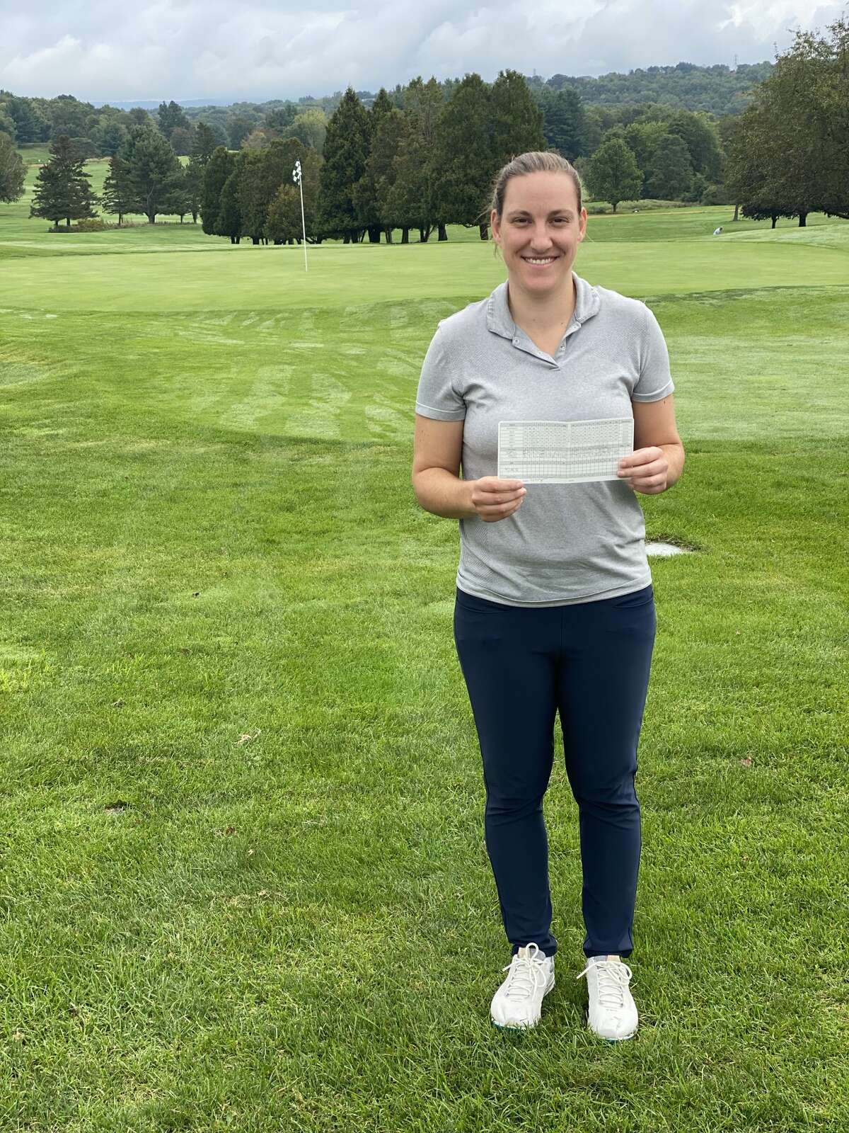Sam Schuffenecker of Troy broke the course record by carding a 66 at Country Club of Troy. She qualified for the U.S. Women's Mid-Amateur at Berkeley Hall Club's North Course in Bluffton, S.C.(Provided)
