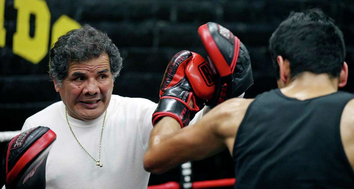 Mike Ayala, training a Golden Gloves fighter in 2016, enjoyed an amateur and pro boxing career that spanned nearly 30 years.