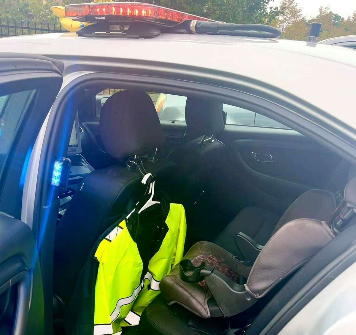 Connecticut state troopers had to install car seats in their vehicles after arresting a man allegedly driving under the influence with three children in his vehicle.