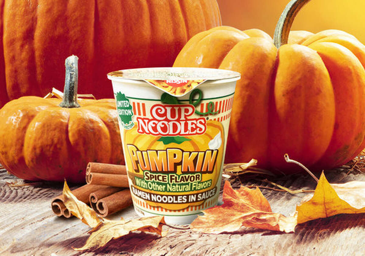 Nissin Foods is releasing its new pumpkin spice-flavored Cup Noodles in Walmarts nationwide in October.