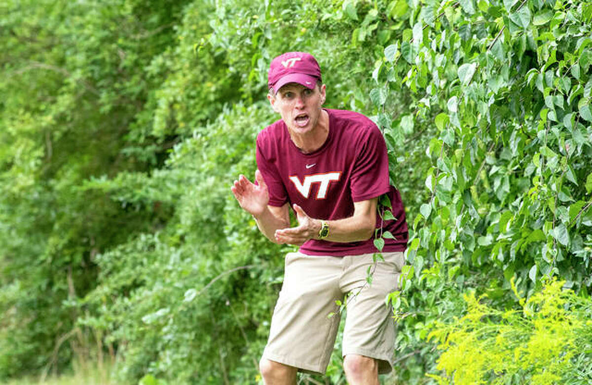 Eric Johannigmeier, a 2007 Edwardsville High School graduate, is the head cross country coach for the men's and women's teams and the head distance coach for the men and women at Virginia Tech.