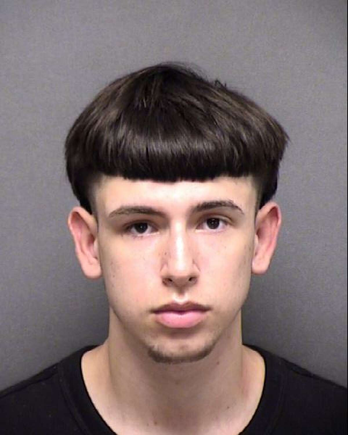Aiden Villhaur, 18, is charged with trafficking of a child.