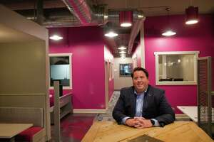 Tom Nardacci, owner of the Troy Innovation Garage, one of the Capital Region's first co-working spaces, poses for a photo at the Troy Innovation Garage on Tuesday, Sept. 21, 2021, in Troy, N.Y.