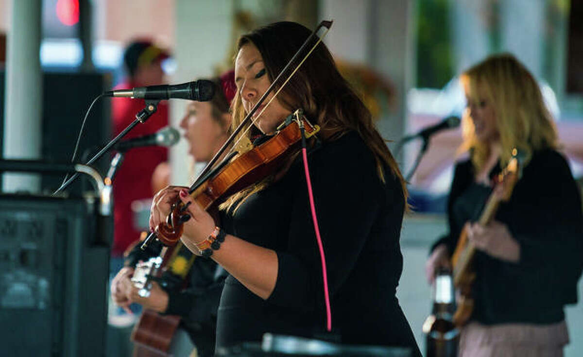 A local musician performs at BushFest 2019 at the Cottage Hills VFW. Now in its 14th year, this year's event is from 4:20 p.m.-midnight Friday and noon-midnight Saturday at Cottage Hills VFW, 121 S. Williams St.