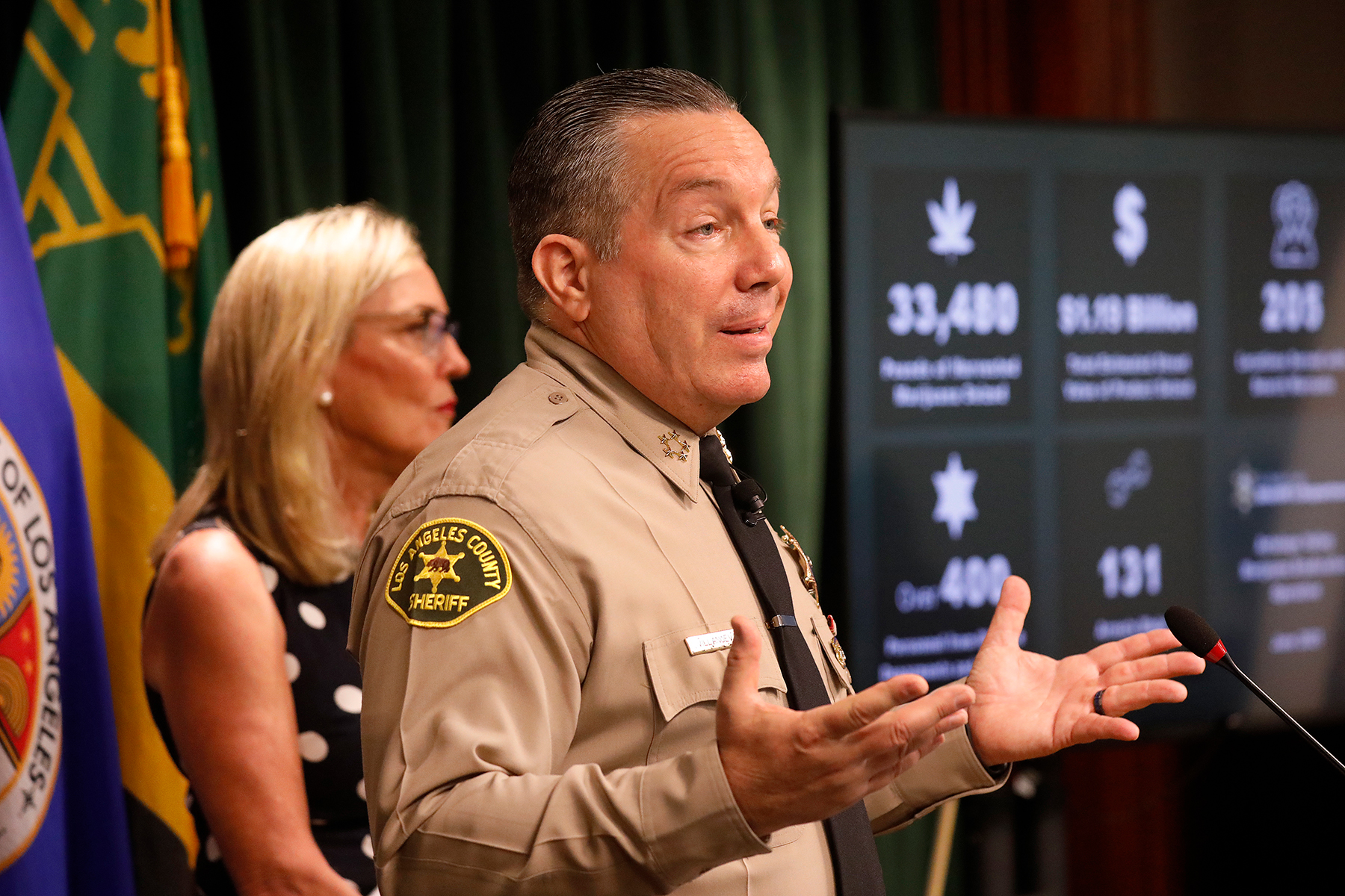 His Deputies Got Caught Forming Gangs, But L.A.'s Sheriff Is Too 'Busy' to Talk About It