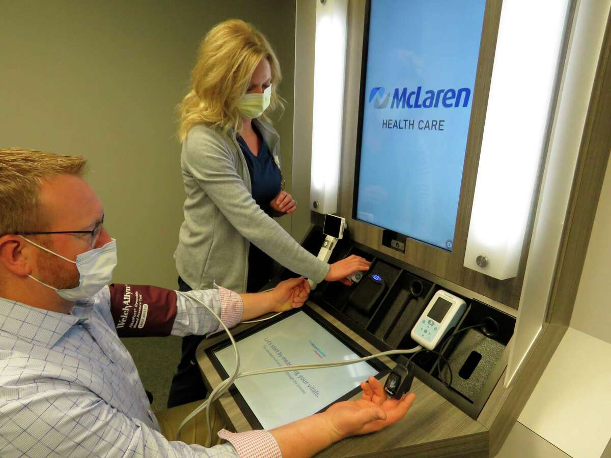 McLaren Thumb Region opened a CareNow clinic in Walgreens' Bad Axe locationlast week, which provides on-demand care for patients. There are nurse practitioners on hand as well as telehealth options available. (McLaren Health Care/Courtesy Photo)