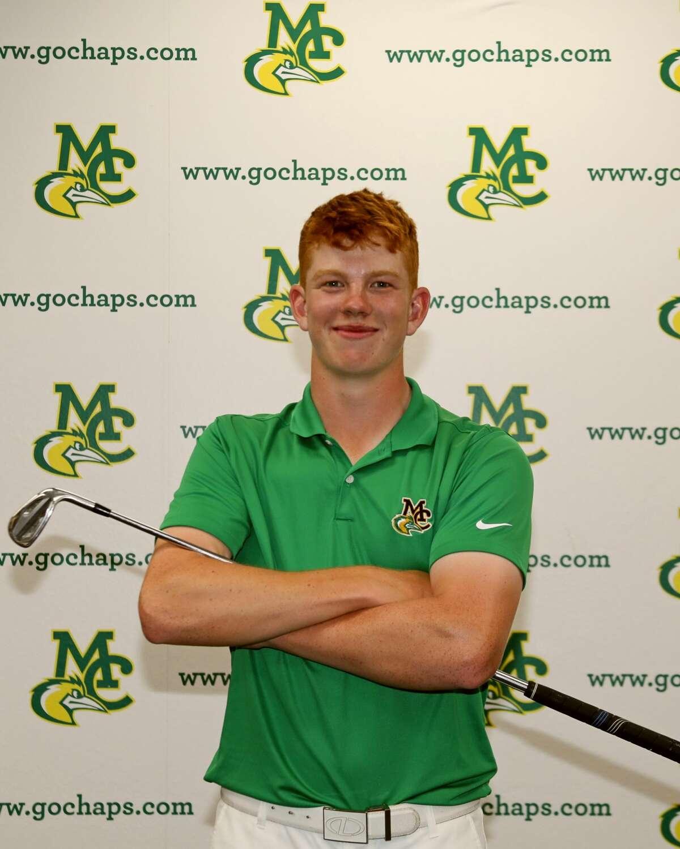 Midland College golfer Gregor Graham