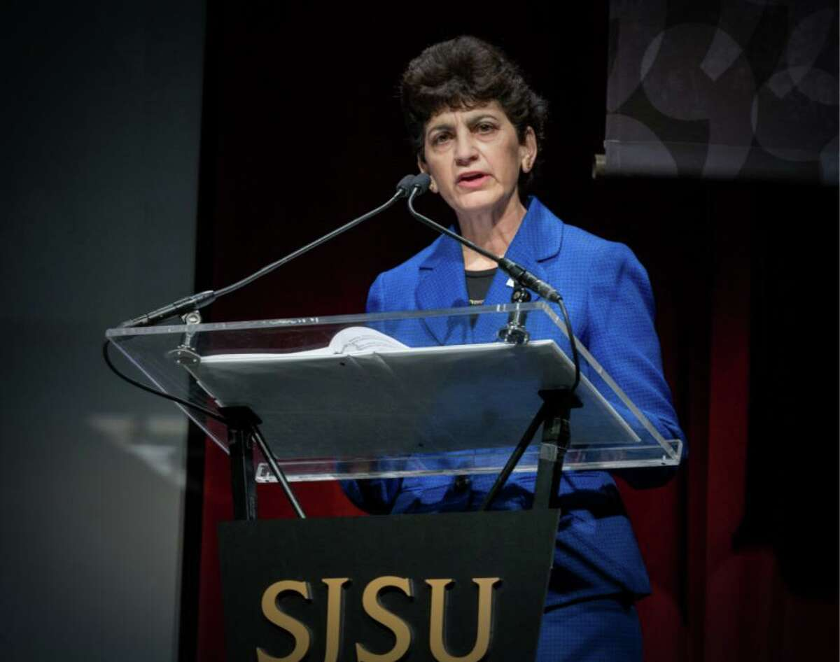 """San Jose State President Mary Papazian previously acknowledged the school has """"not always lived up to expectations"""" to keep students safe."""