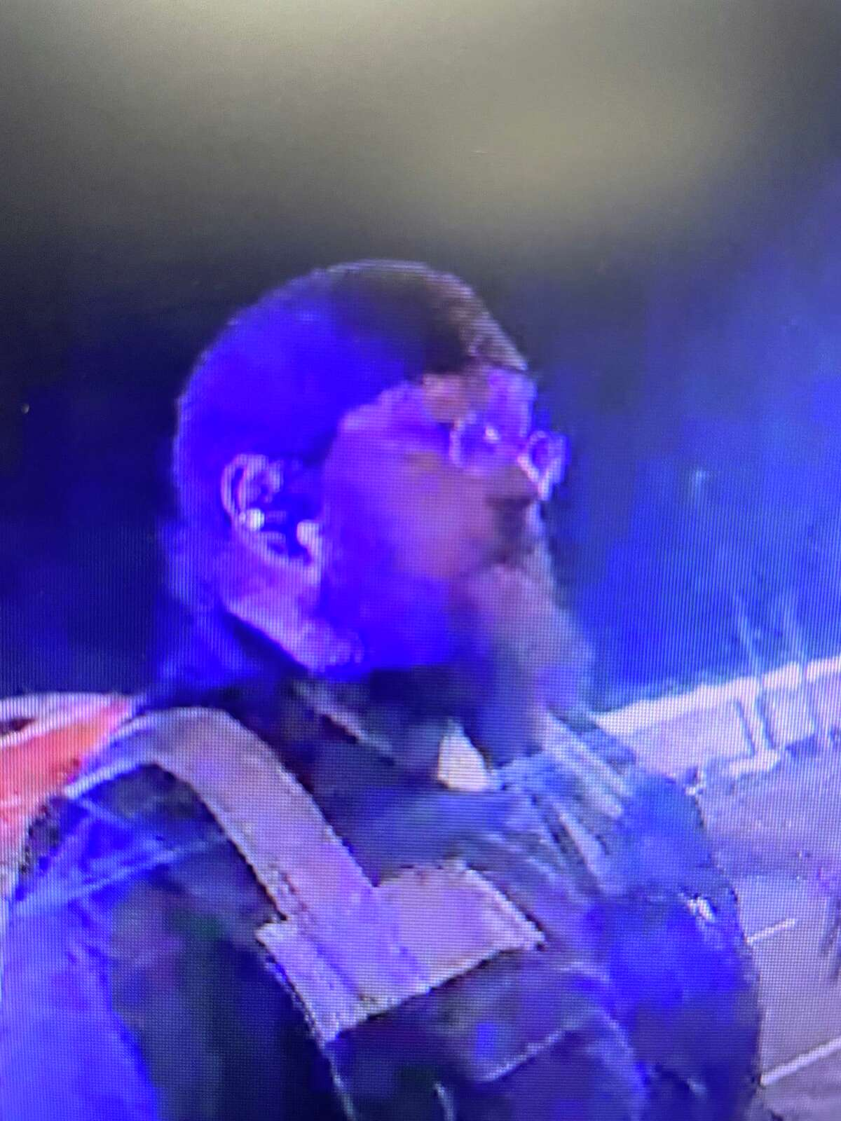 Connecticut State Police are asking for the public to help identify this man. The unidentified tow operator helped free a man from a burning car in Stamford, Conn. on Sept. 4, 2021.