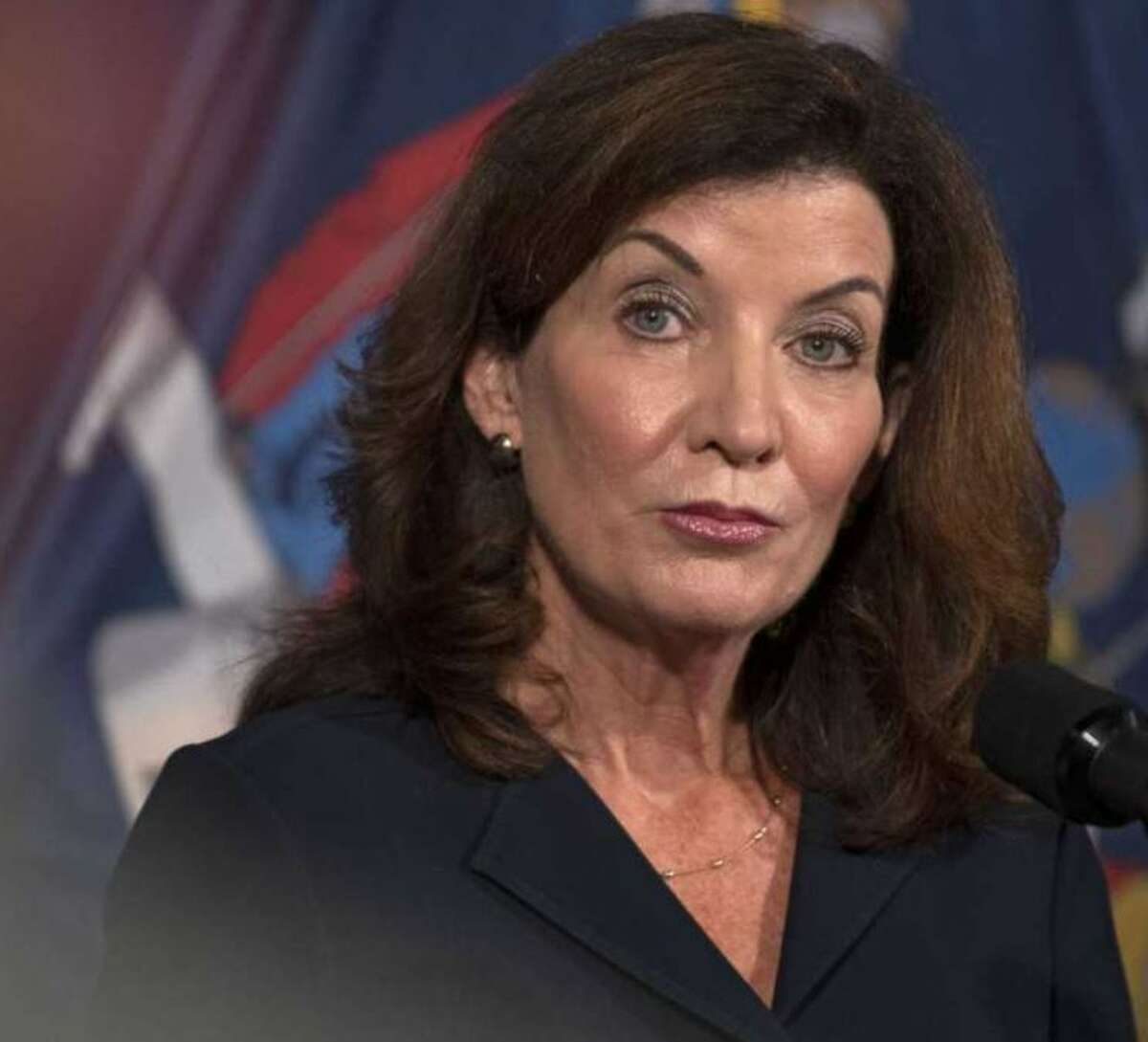 """Gov. Kathy Hochul on Sunday said the unvaccinated """"aren't listening to God and what God wants."""""""