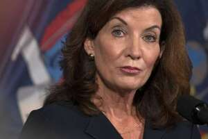 Gov. Kathy Hochul announced two programs that would aid the hospitality industry by providing funds to purchase meals at participating restaurants for food-insecure populations including the elderly and the homeless.