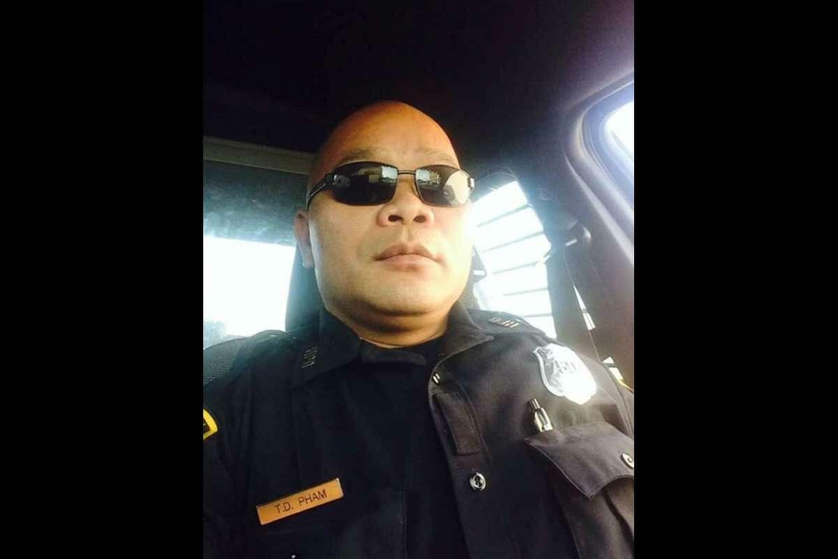 Former Houston Police Department officer Tam Pham.