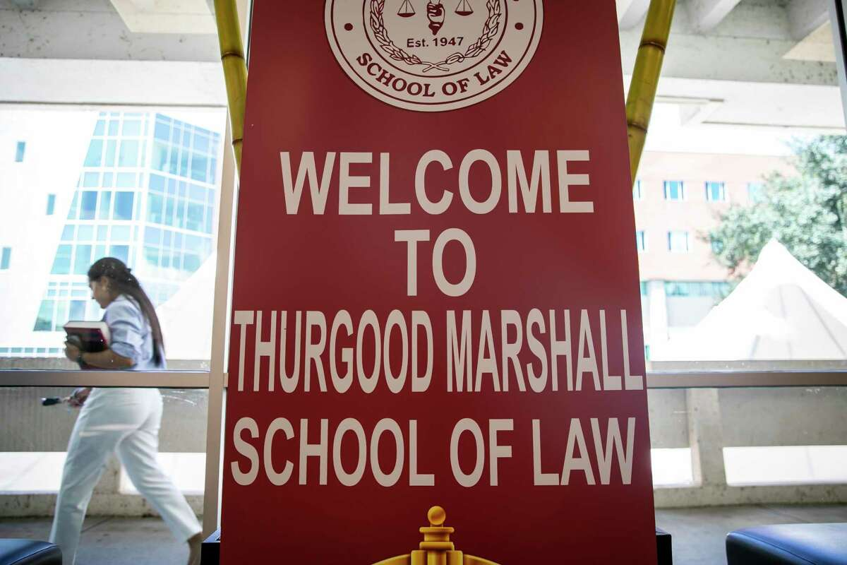 The Thurgood Marshall School of Law on Monday, Sept. 20, 2021.