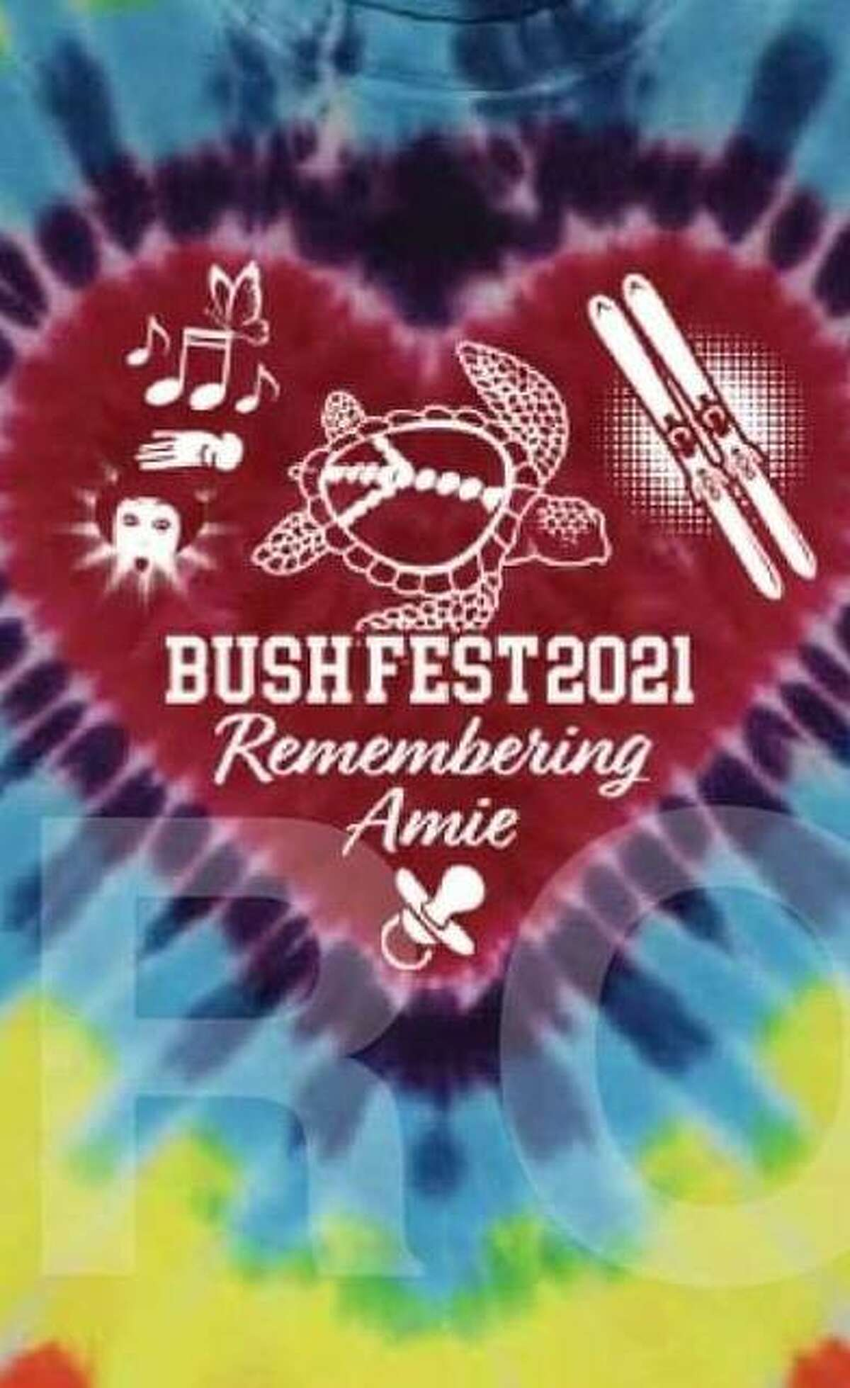 This year's BushFest is in memory of founder Doug Bush's sister Amie Bush Riffey, who died this year at age 50 of breast cancer, which ultimately metastasized to her brain. Solid color T-shirts will be sold in either pink for breast cancer awareness or gray for brain cancer awareness. There also will be a specially designed tie-dye T-shirt with a logo celebrating Amie's spirit. There will be a silent auction raising money for park benches and picnic tables and their placement in parks and outdoor settings. Contact Bush or his wife, Kristy Bush, via Facebook messenger to make a donation.