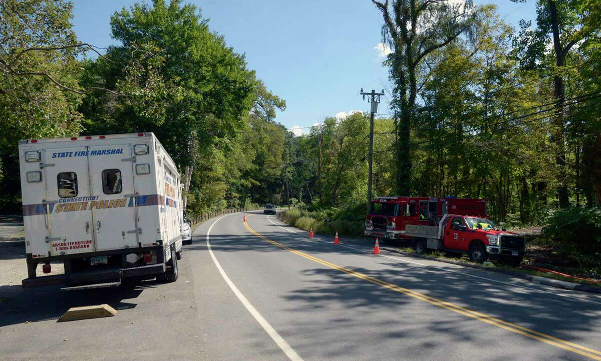 A body was found in a fire at a Route 55 North home on Sunday, according to officials. The fire, which was reported around 6 p.m. Sunday, and is still under investigation. Monday, September 20, 2021, Sherman, Conn.