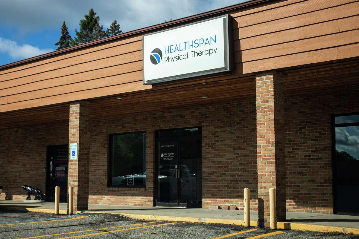 HealthSpan Physical Therapy is located at 4424 N. Saginaw Road in Midland. (Katy Kildee/kkildee@mdn.net)