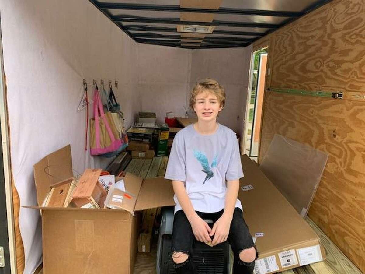 Matthew Reel, 14, started the nonprofit Matthew's Birthday Wish when he was eight.