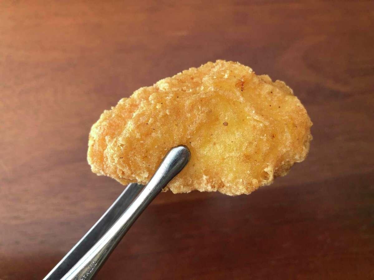 Close-up of a McDonald's McNugget.