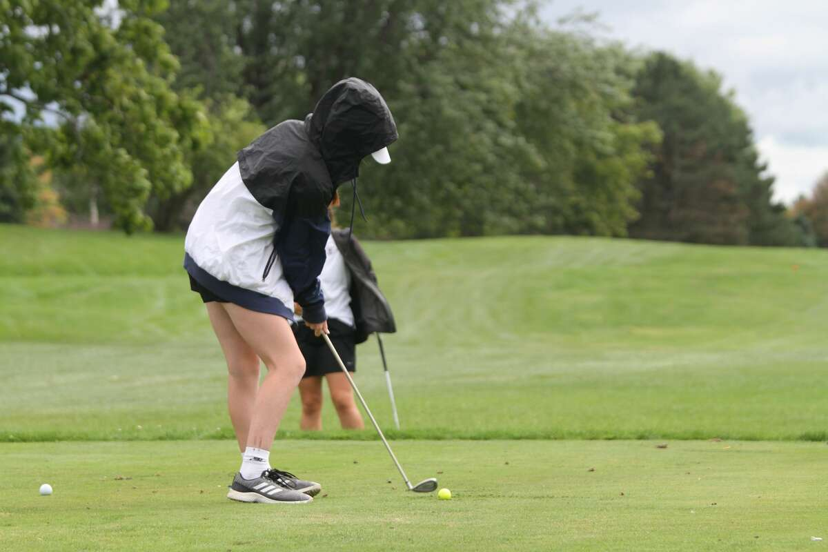 Manistee golf competed alongside Ludington and Western Michigan Christian on Tuesday afternoon.