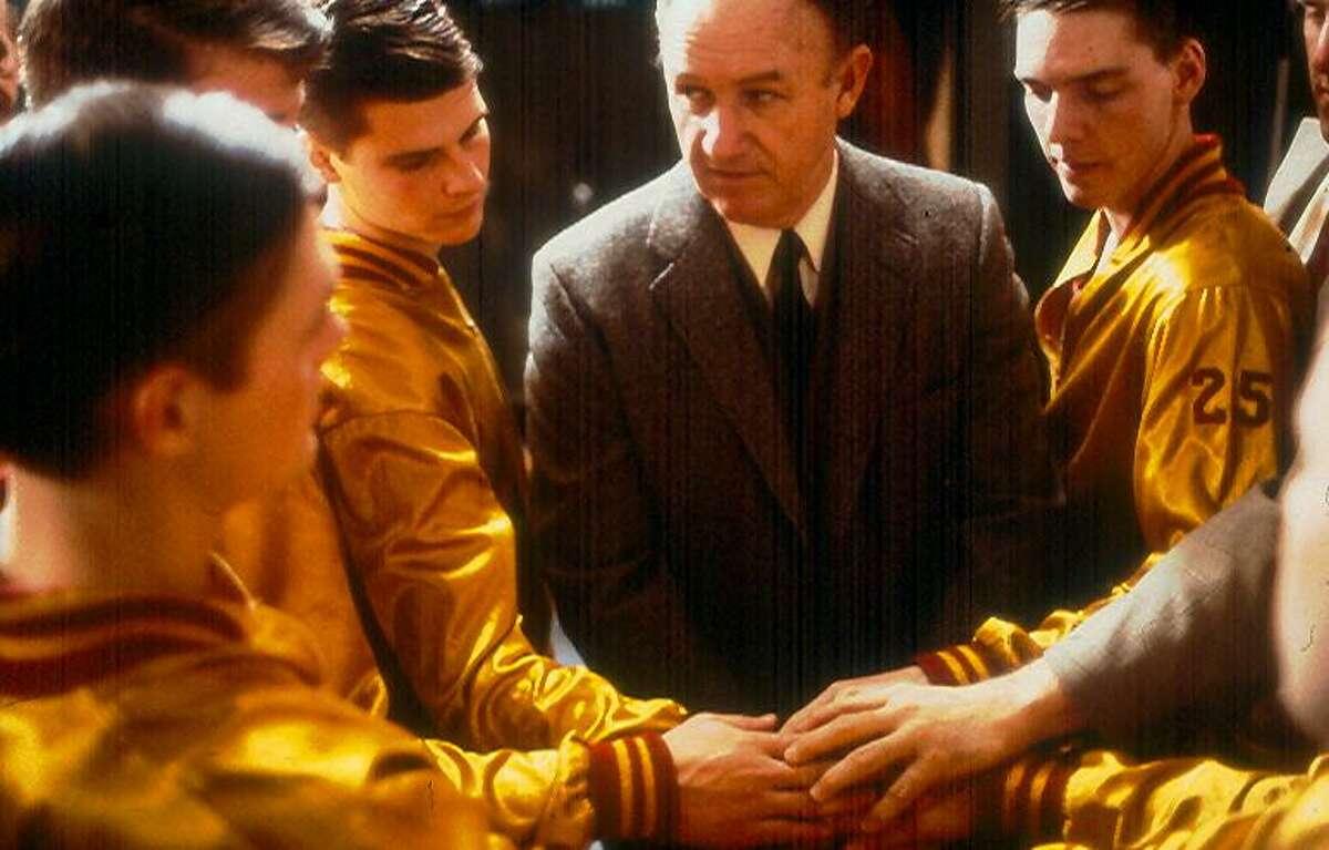 "Don Harris' favorite sports movie is ""Hoosiers,"" which stars Gene Hackman."