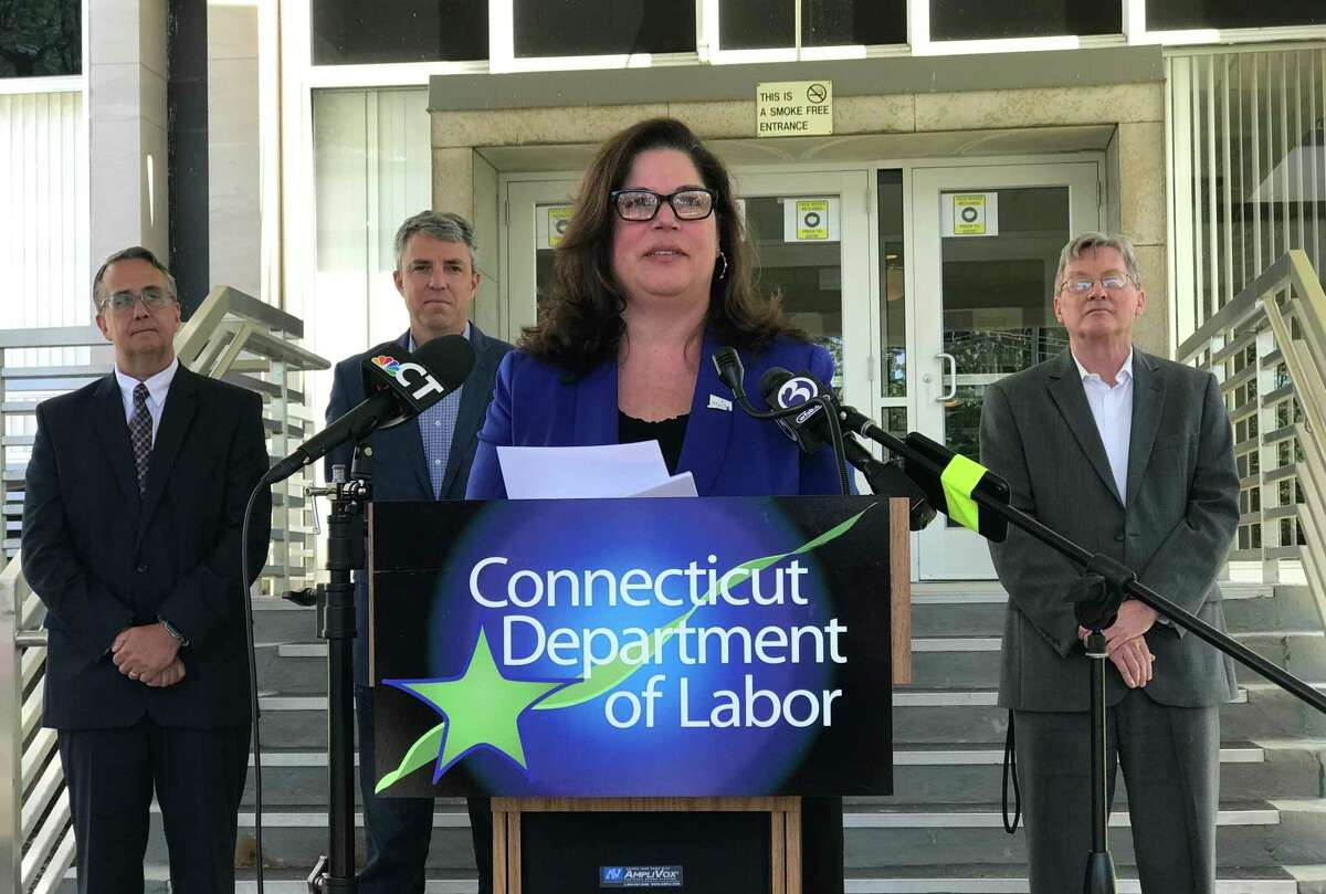 Dante Bartolomeo was promoted from deputy commissioner to commissioner of the Connecticut Department of Labor in June 2021, in time for a backlog of unemployment benefits errors.