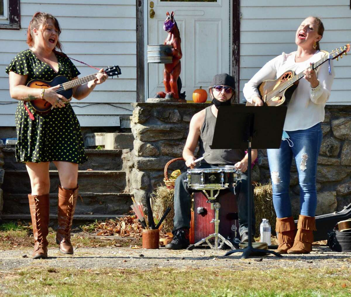 H.O.R.S.E. of CT, 43 Wilbur Road, Washington, is holding a music festival Sept. 25 at the farm. Pictured, Charm City Exiles, one of the bands.
