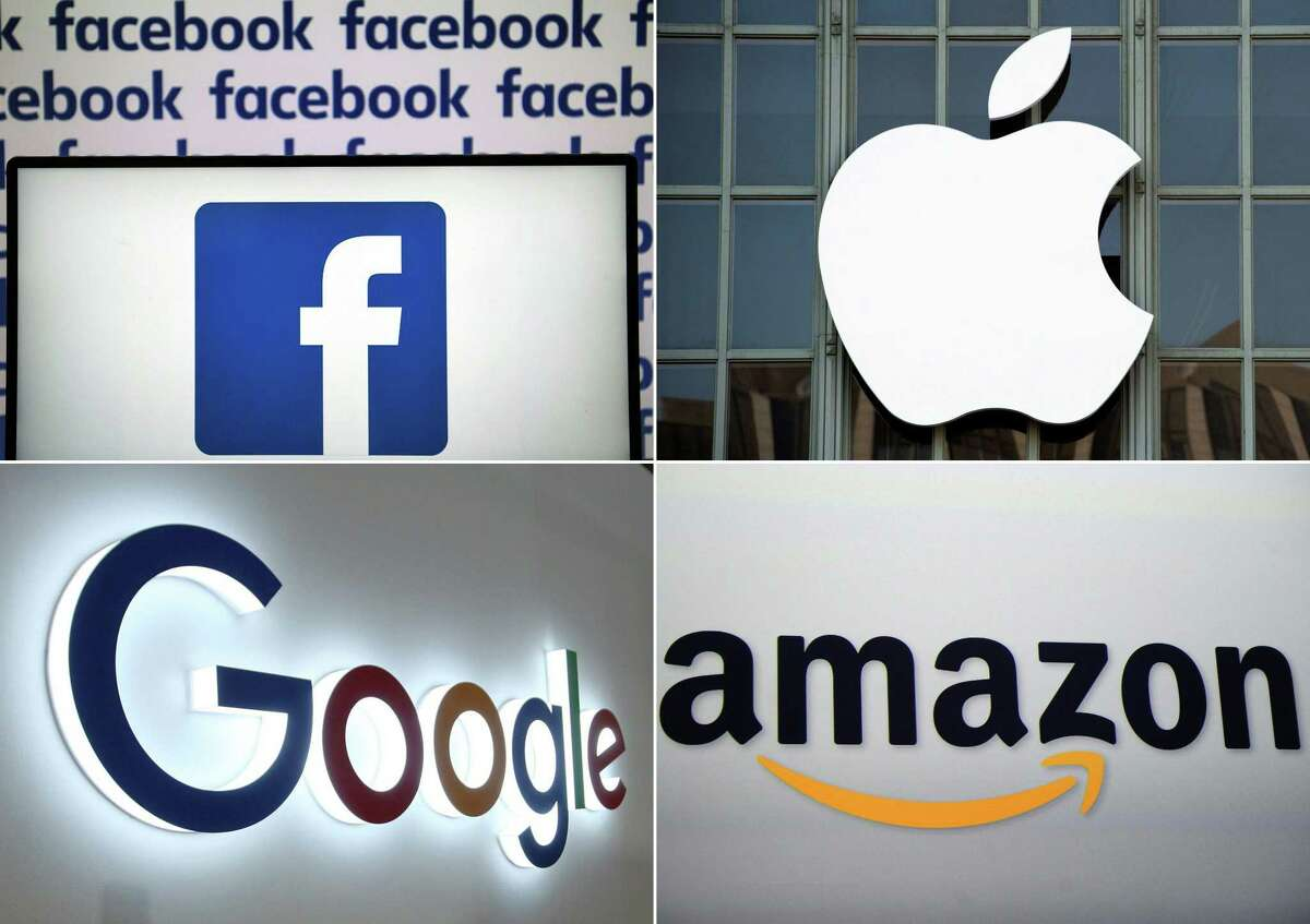 Giant tech companies are subject to a new Texas law because of their size. Meanwhile, an antitrust movement is building at the federal level.
