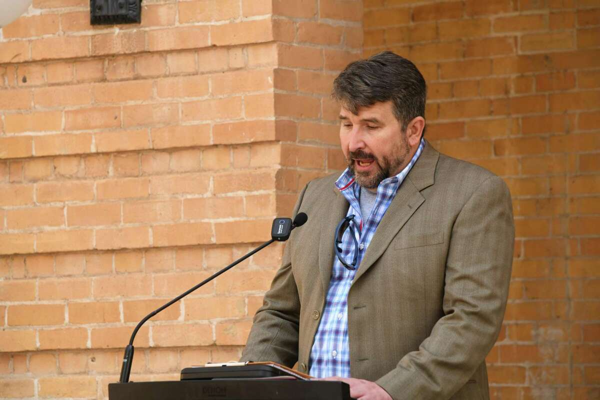 David Garza, Webb County Veterans Officer, explained the entire process of the Gold Star families during a proclamation dedicating September 2021 as Gold Star Families month.
